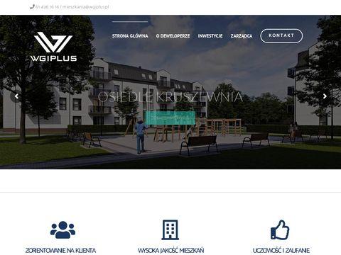 Biuro sprzedaży mieszkań- WGIPLUS.PL