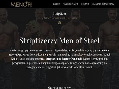 Striptiz męski - tancerzerotyczny.pl