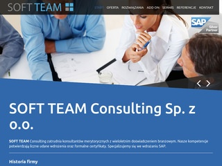 Home | Soft Team Consulting | SAP Business One Partner