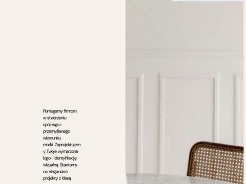 Grafika Łódź, projekty graficzne, logo, strony www, grafik freelancer | Studio Fink