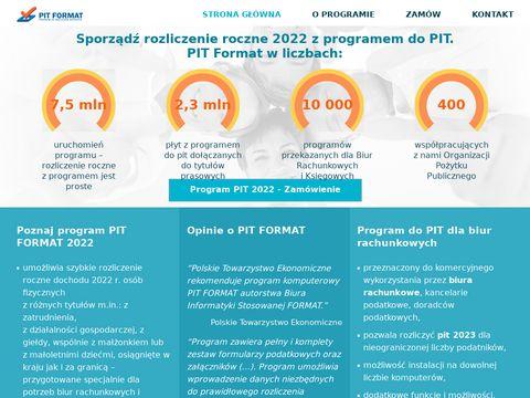 pit-biuro.pl PIT dla biura rachunkowego - PIT 2018