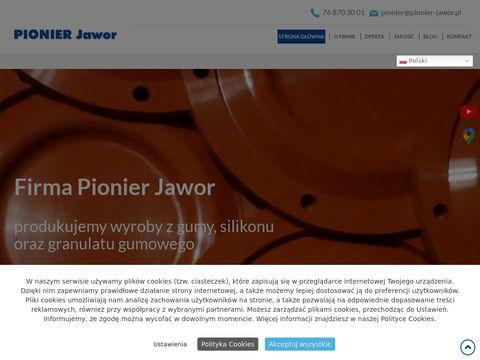 PIONIER JAWOR statory do pomp
