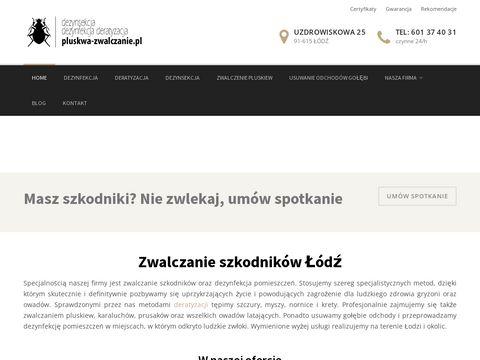 Pluskwa-zwalczanie.pl - dezynfekcja Łódź.