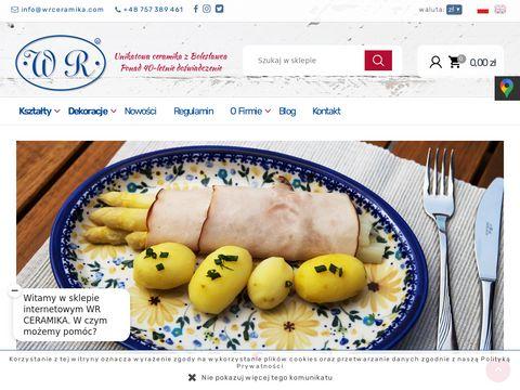 www.wrceramika.com porcelana bolesławiec