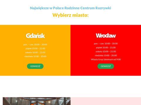 Największy w Polsce plac zabaw - Loopy's World