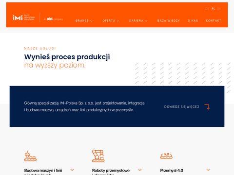 IMI-Polska - Projektowanie i budowa maszyn oraz linii produkcyjnych