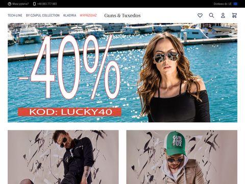 Gunsandtuxedos.com - koszule męskie na wesele.