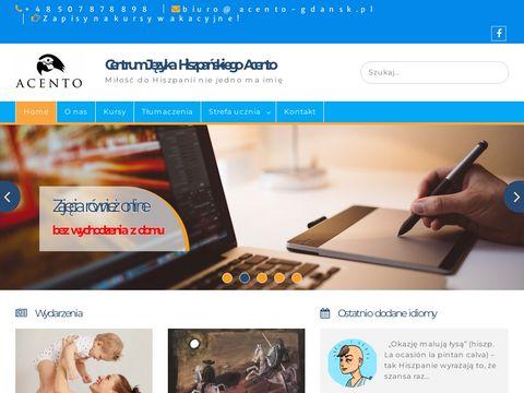 Język hiszpański nauka - Acento