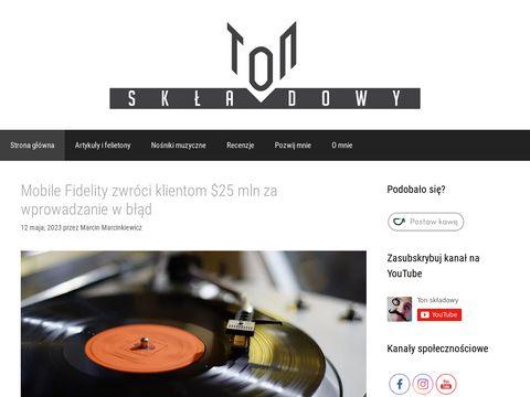 Ton Składowy - blog muzyczny, recenzje płytowe