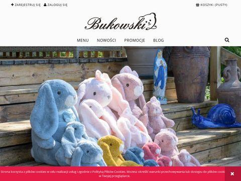 Galeria Bukowski - maskotki firmowe prezenty