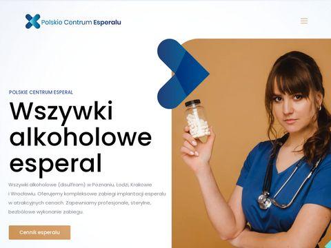 Wszywka alkoholowa Poznań - Esperal Info