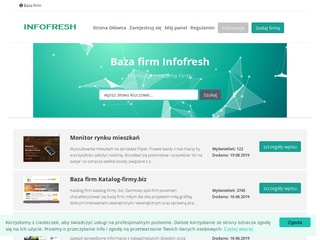 Infofresh.pl katalog firm