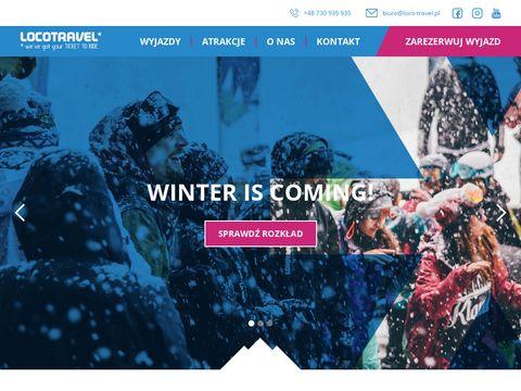 Obozy, wyjazdy snowboardowe - loco-travel.pl