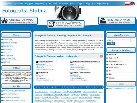 Usługi fotograficzne - rejestr firm