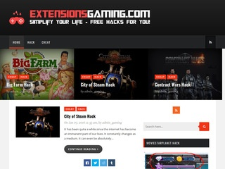 Extensions Gaming - Cheats, Crack, Full Game, Bot