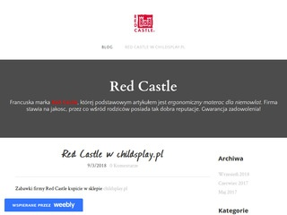 Blog o produktach Red Castle