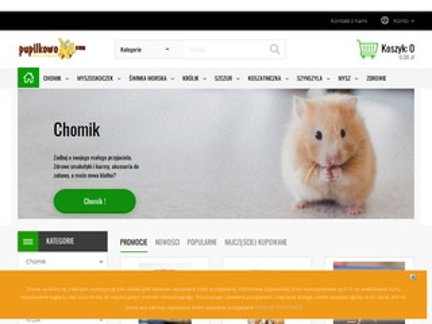 Internetowy sklep zoologiczny Pupilkowo.com