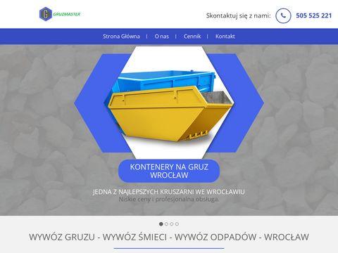 Kontenery na odpady remontowe Wrocław