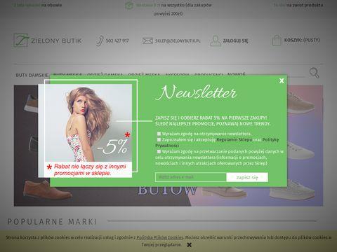 ZielonyButik : Wygodne buty od Badury