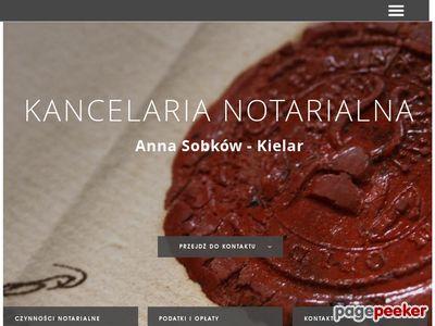 Sobków-Kielar notariusz