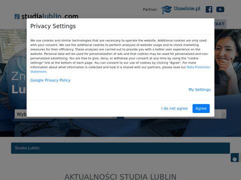Filologia angielska studia Lublin