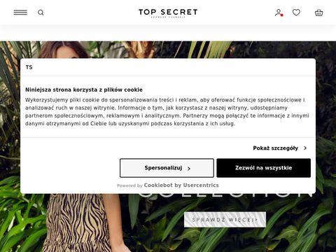TOP SECRET - odzież damska, odzież męska, dziecięca, ubrania - sklep odzieżowy internetowy
