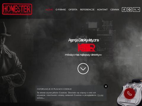 HONESTER Detektyw Warszawa