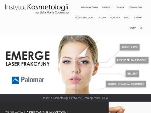 Instytut Kosmetologii - Zabiegi