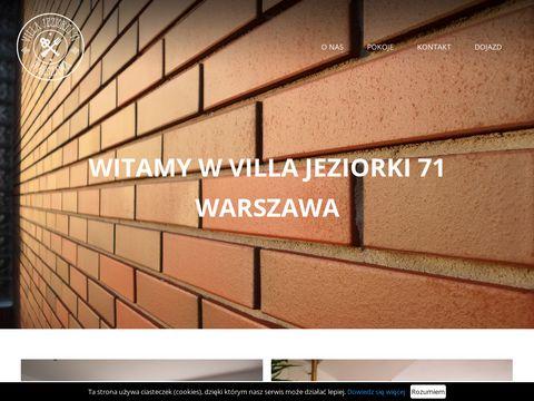 Hostel Jeziorki 71: Tani hotel w Warszawie