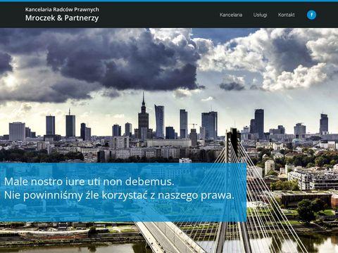 Doradztwo prawne Warszawa