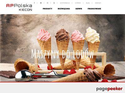 Maszyny do lodów