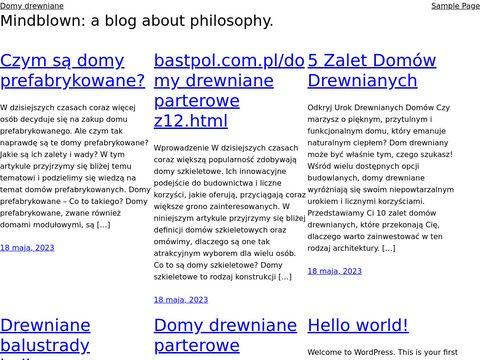 Balustrady balkonowe, barierki drewniane
