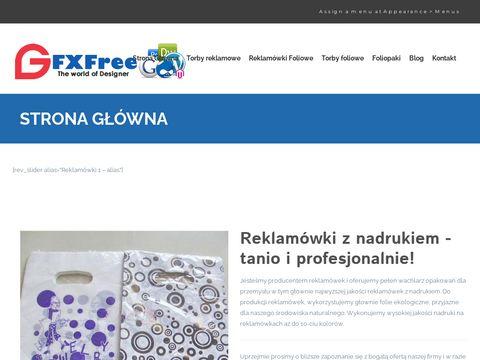 Producent reklamówek z nadrukiem - Domat