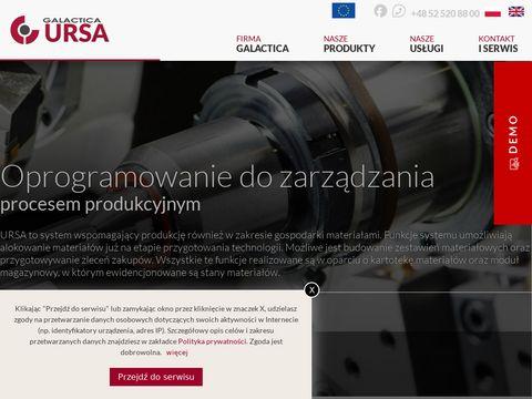 Ursa oprogramowanie do produkcji
